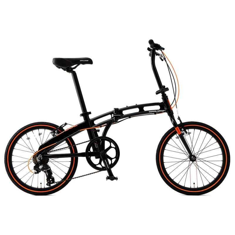 ドッペルギャンガー(DOPPELGANGER) 20インチ折りたたみ自転車 ブラック×オレンジ 202-S-DP 202-S-DP【大型商品【大型商品】】, ようけんShop:d12f7fd3 --- sunward.msk.ru