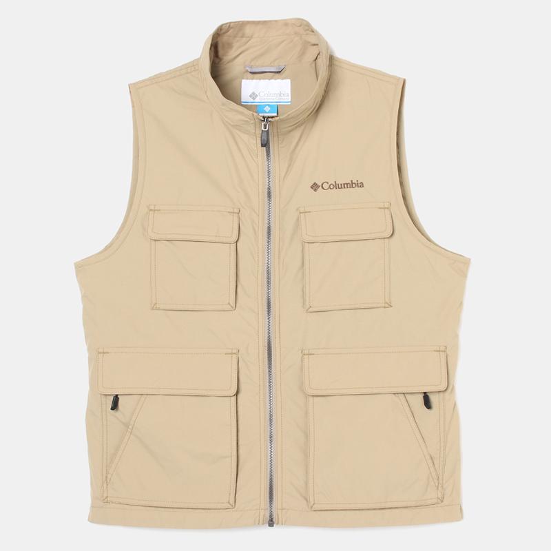 Columbia(コロンビア) Vidora II Vest(ヴィドラ II ベスト)Men's L 265(British Tan) PM1374