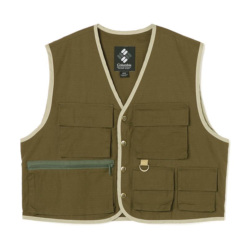 Columbia(コロンビア) Watauga Sanctuary Vest(ワタウガ サンクチュアリ ベスト) Men's L 347(SURPLUS GREEN) PM1422