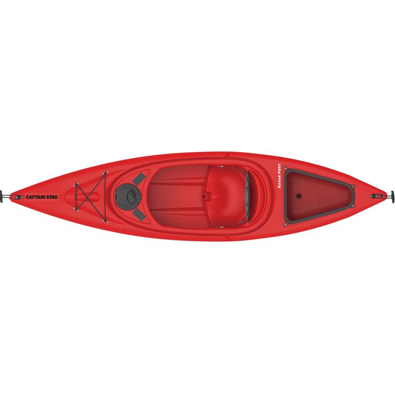 キャプテンスタッグ(CAPTAIN STAG) カヤックポート 305パドル付【代引不可】 レッド US-12 【大型商品】