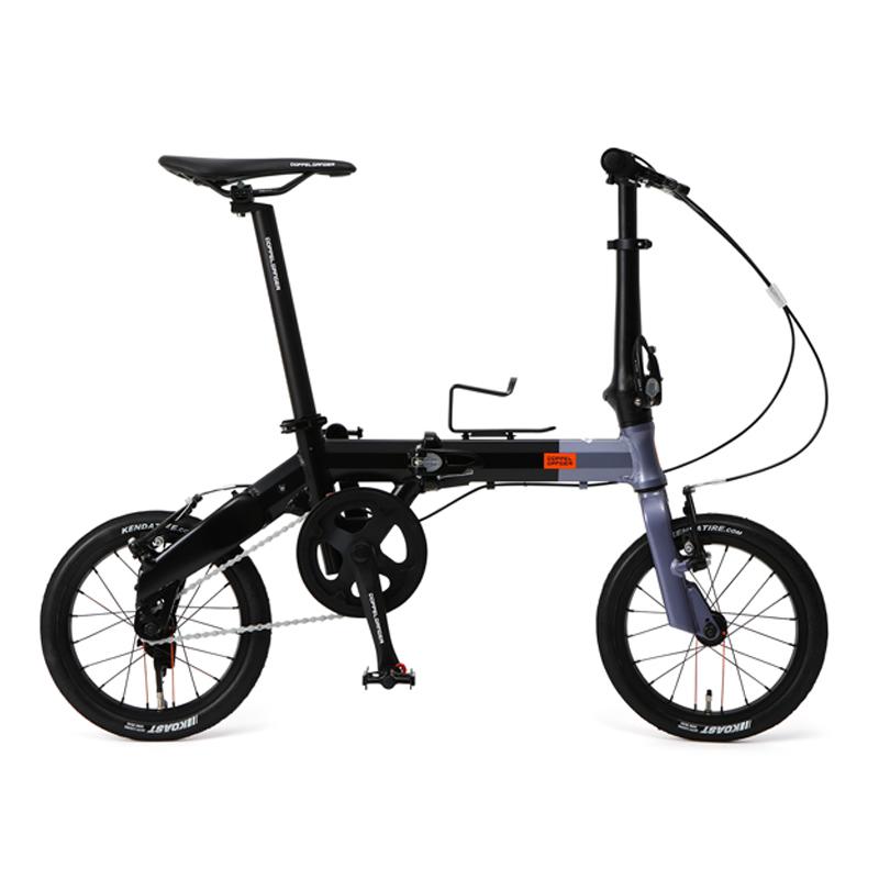 ドッペルギャンガー(DOPPELGANGER) 14インチ折りたたみ自転車 GY 140-H-GY 【大型商品】