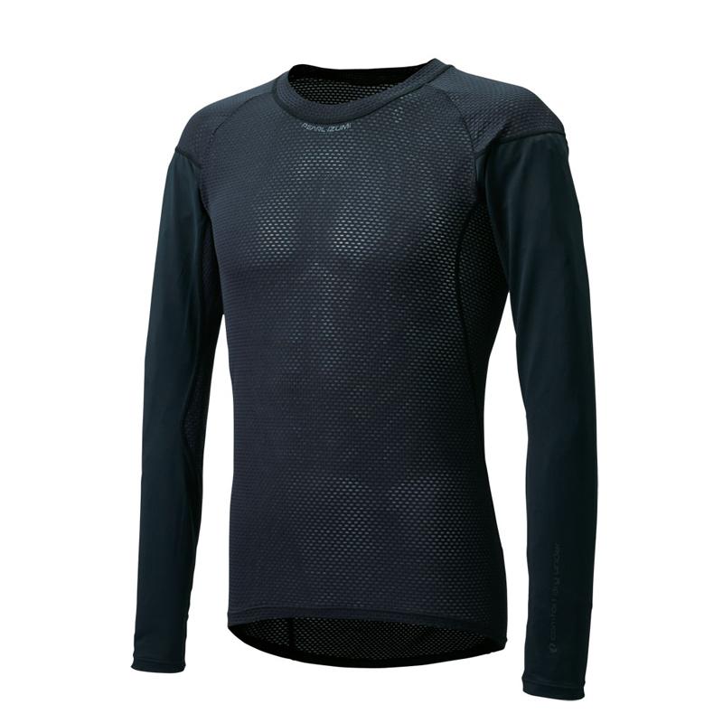 パールイズミ(PEARL iZUMi) クールフィットドライ UV ロングスリーブ (メンズ) L 7(ブラック) 118-7
