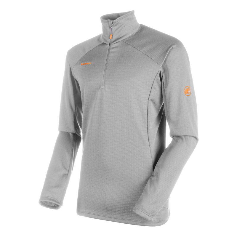 MAMMUT(マムート) Moench Advanced Half Zip Longsleeve Men's S marble 1041-09890