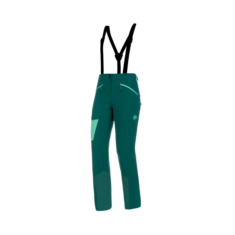 MAMMUT(マムート) Base Jump SO Touring Pants Women's 36 short teal-atoll 1021-00090