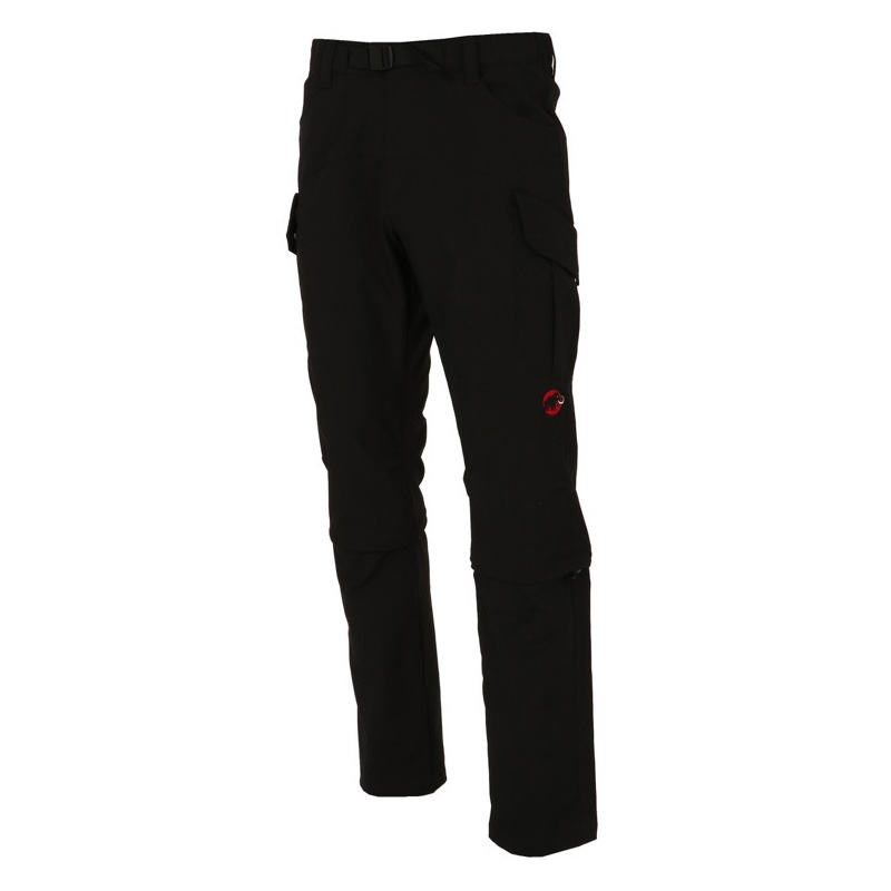 MAMMUT(マムート) TRANSPORTER Cargo 3/4 2in1 Pants Men's S black 1022-00310