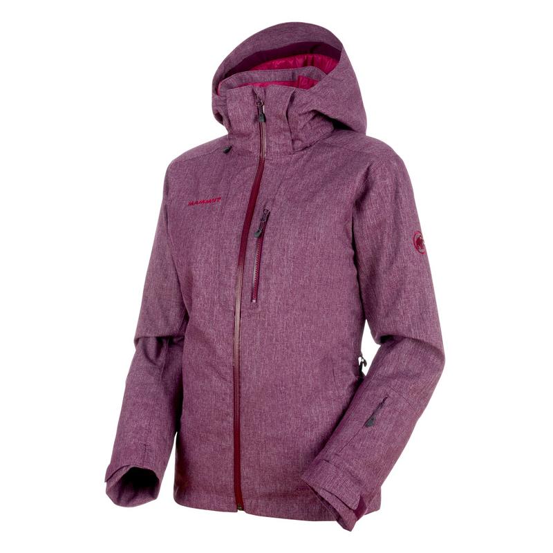 MAMMUT(マムート) Stoney HS Thermo Jacket Women's M grape melange×beet 1010-24801