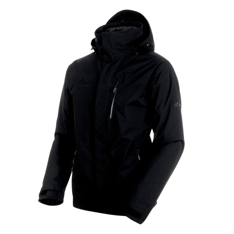 MAMMUT(マムート) Trovat Tour 3 in 1 HS Jacket Men's L black×phantom×phantom 1010-22081