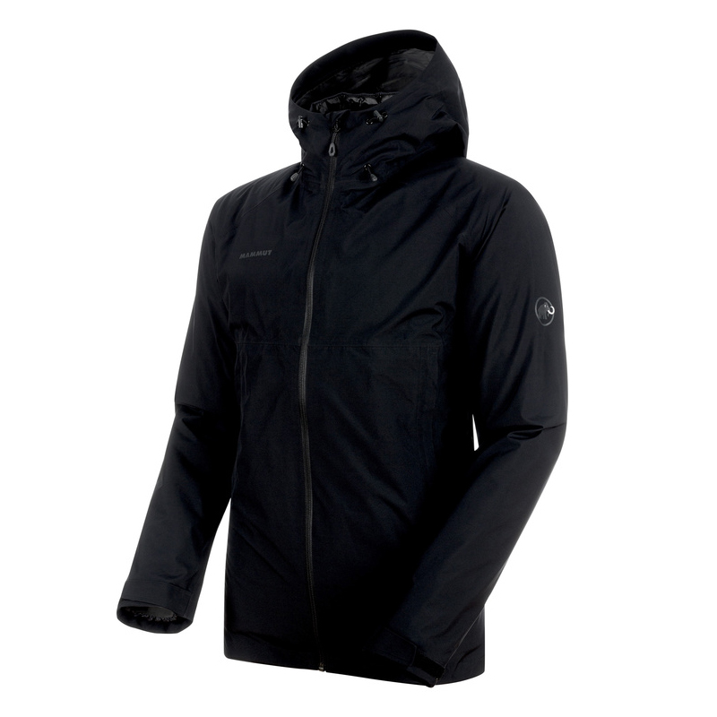 MAMMUT(マムート) Convey 3 in 1 HS Hooded Jacket Men's M black×black 1010-26470