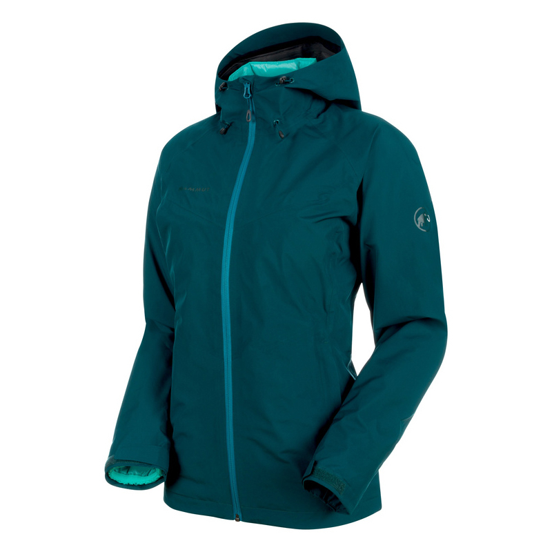 MAMMUT(マムート) Convey 3 in 1 HS Hooded Jacket Women's M teal×atoll 1010-26490