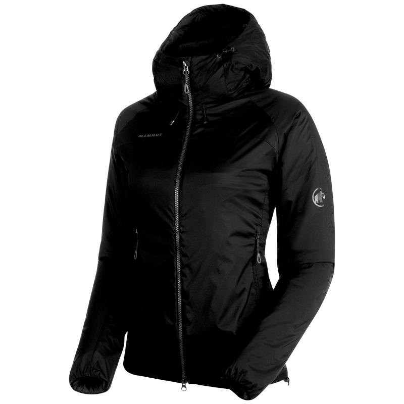 MAMMUT(マムート) Rime IN Flex Hooded Jacket AF Women's XS black 1013-00760