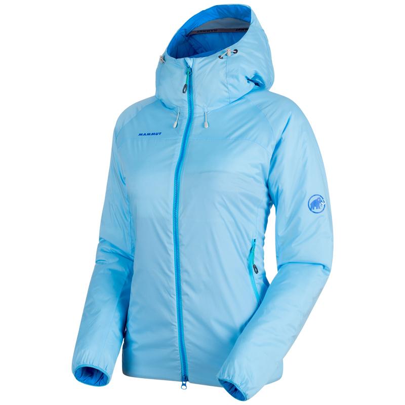 MAMMUT(マムート) Rime IN Flex Hooded Jacket AF Women's S whisper 1013-00760