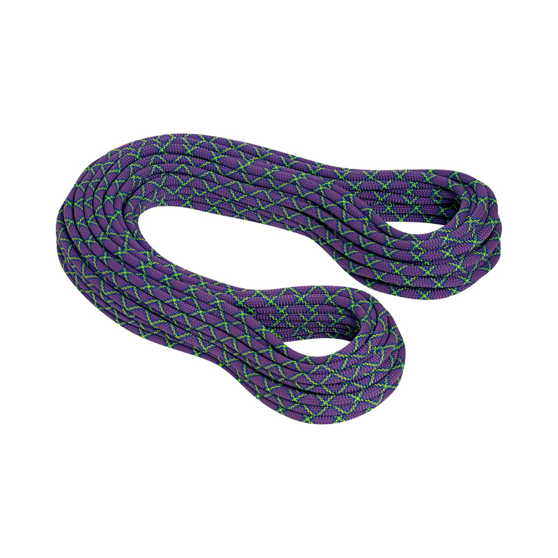 MAMMUT(マムート) 10.0 Galaxy Protect 50m violet×lime green 2010-02721