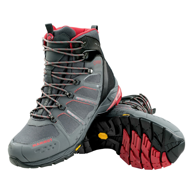 MAMMUT(マムート) T Aenergy High GTX(R) Men's 7/25.5cm graphite×lava 3020-05570