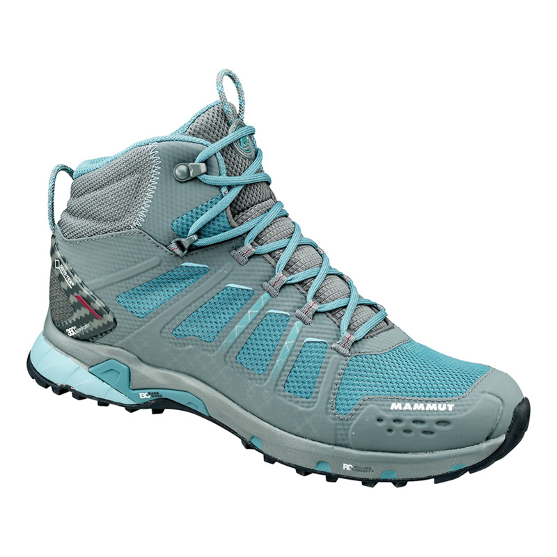 MAMMUT(マムート) T Aenergy Mid GTX(R) Women's 4.5/23.0cm grey×dark air 3020-05620