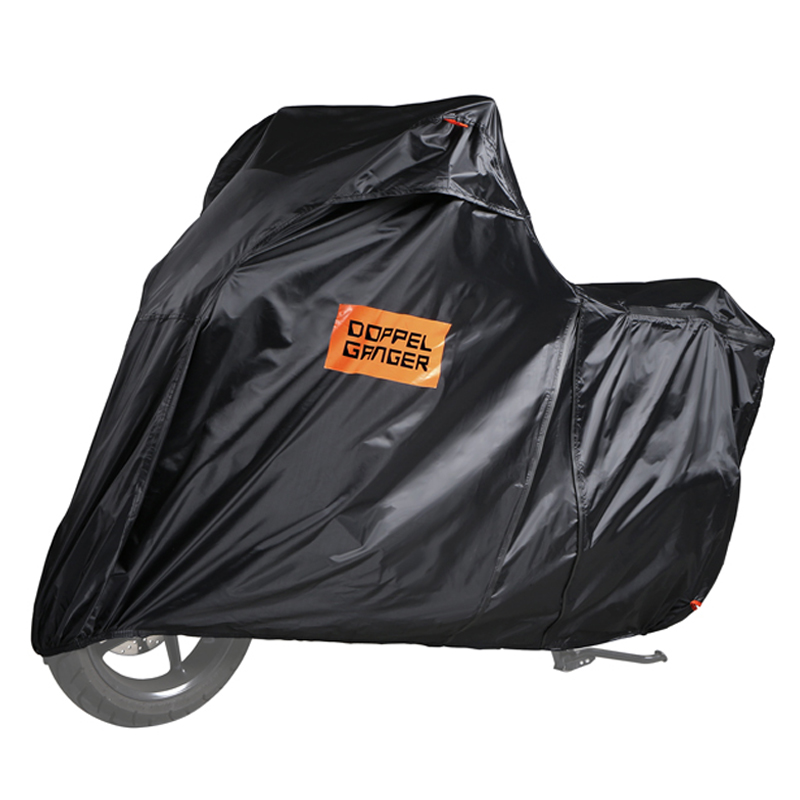 ドッペルギャンガー(DOPPELGANGER) ミドルスクーターカバー ブラック DCC500-BK