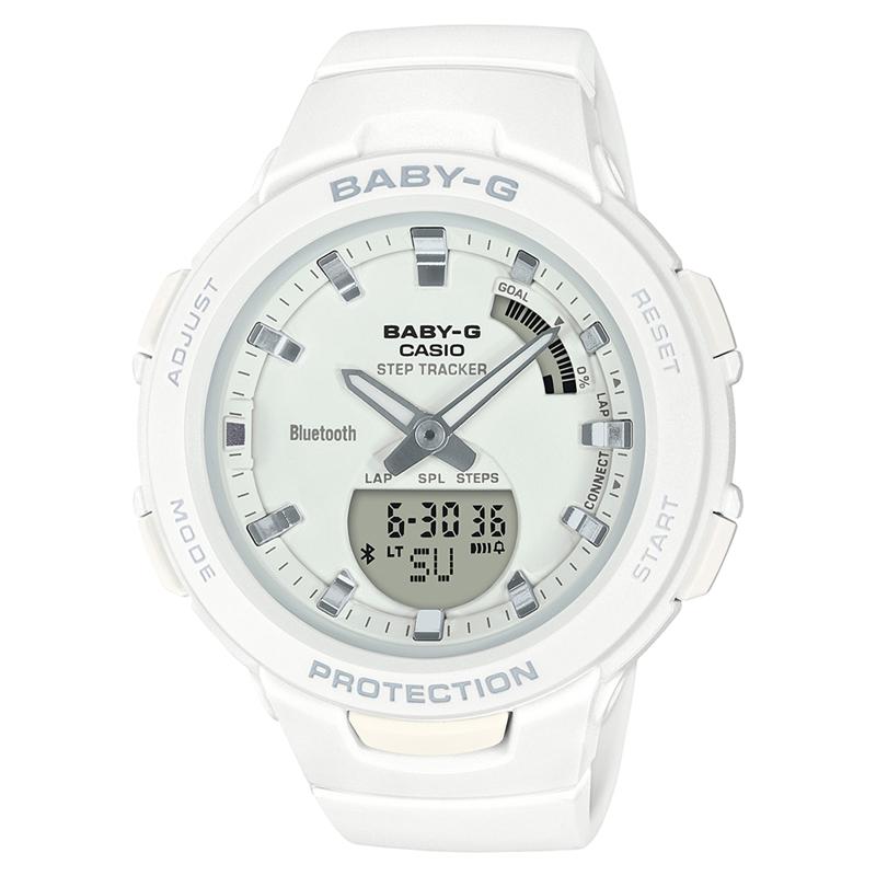 BABY-G(ベビージー) 【国内正規品】BSA-B100-7AJF ホワイト BSA-B100-7AJF