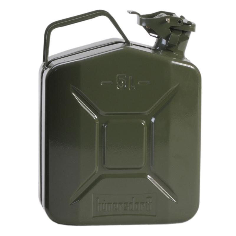 ヒューナースドルフ(hunersdorff) Metal Kanister CLASSIC 5L olive 434400