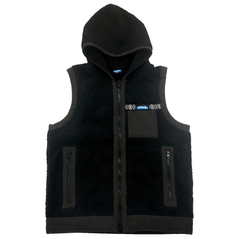 KAVU(カブー) Shasta Vest Men's L Charcoal 19820708043007