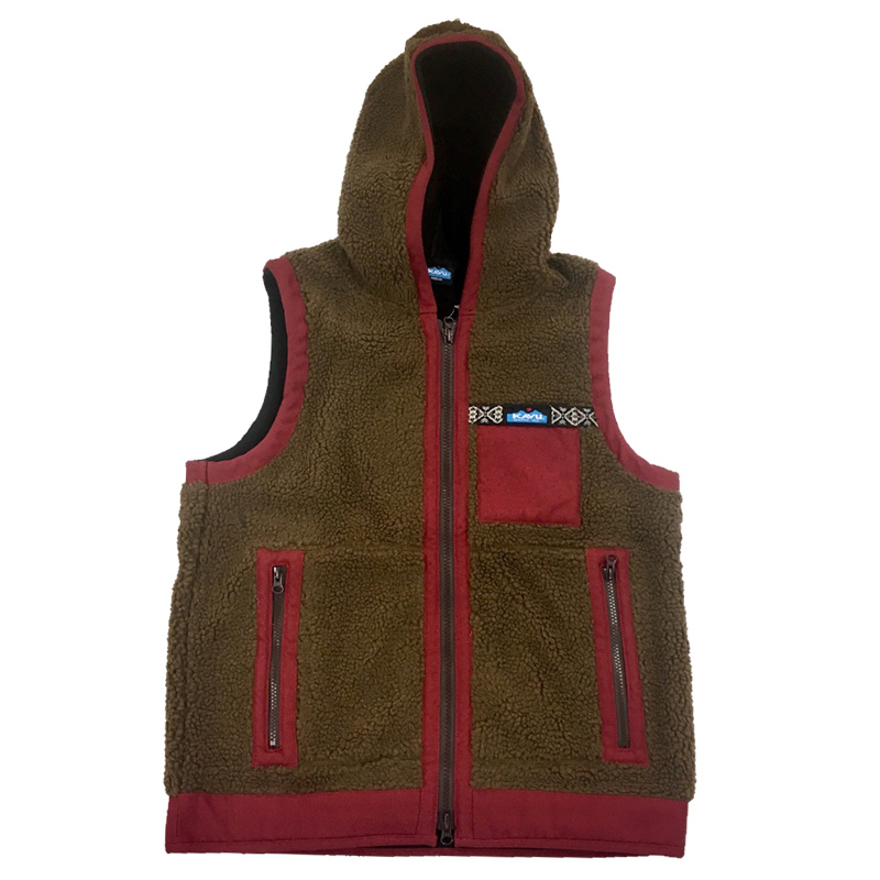 KAVU(カブー) Shasta Vest Men's L Brown 19820708077007