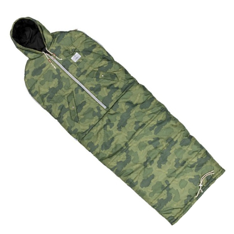 POLAR(ポーラー) THE REVERSIBLE NAPSACK M GREEN FURRY CAMO×BLACK 43550002-GCO