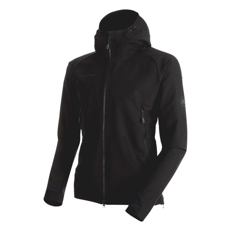 MAMMUT(マムート) Runbold Trail SO Hooded Jacket AF Men's S black 1011-23001