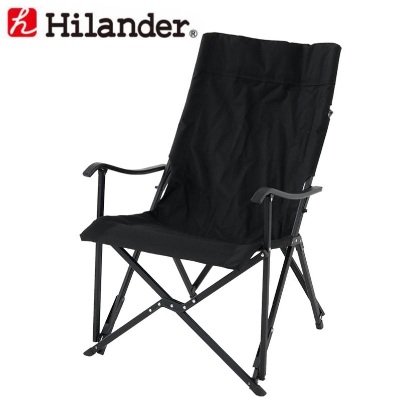 Hilander(ハイランダー) スリムエックスチェア ブラック HTF-SXCBK