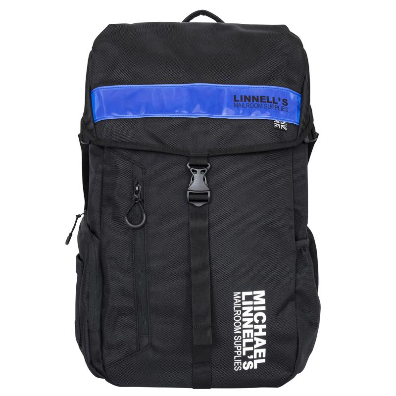 マイケルリンネル(MICHAEL LINNELL) Big Backpack(ビッグ バックパック) ML-008 30L Black×Blue 93001