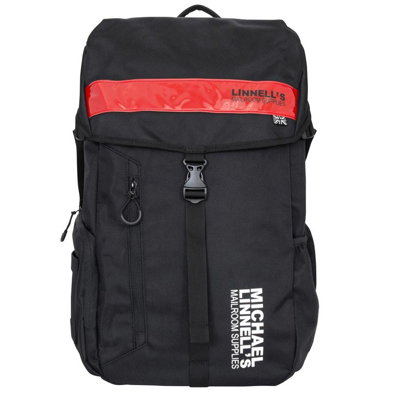 マイケルリンネル(MICHAEL LINNELL) Big Backpack(ビッグ バックパック) ML-008 30L Black×Red 92360