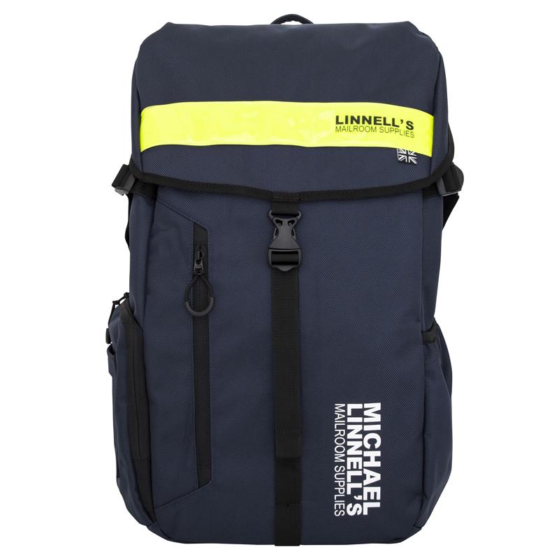 マイケルリンネル(MICHAEL LINNELL) Big Backpack(ビッグ バックパック) ML-008 30L Navy×Yellow 92362