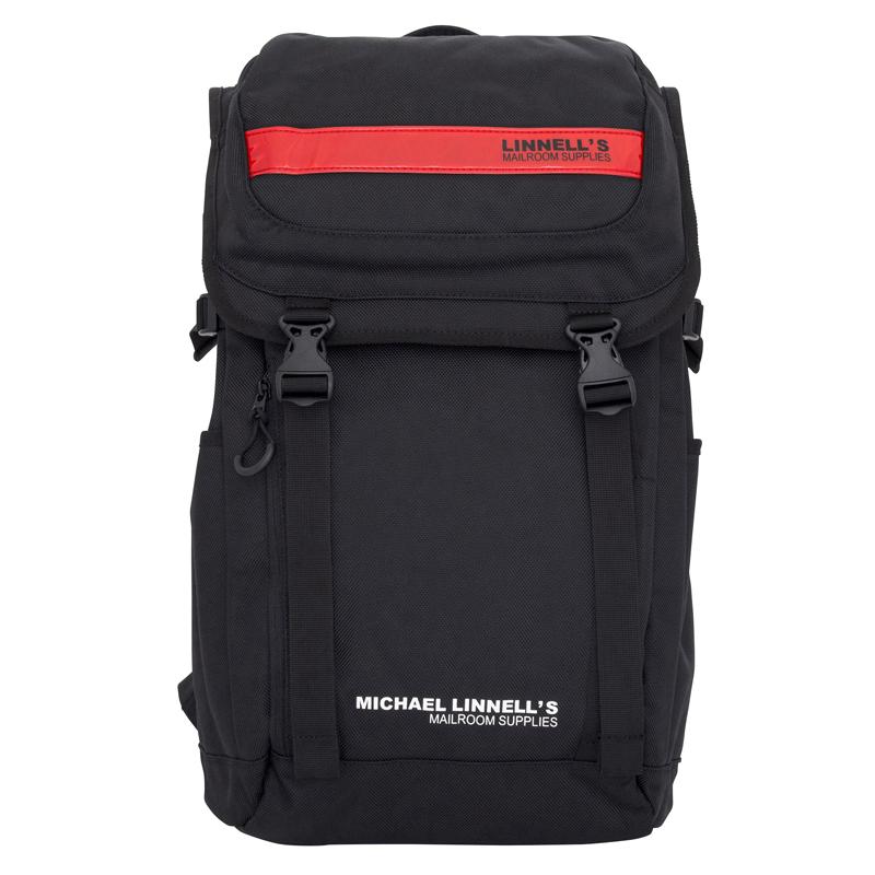 マイケルリンネル(MICHAEL LINNELL) Double Decker(ダブル デッカー) ML-018 27L Black×Red 130560