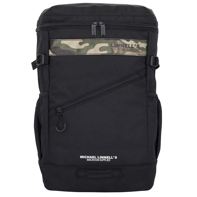 マイケルリンネル(MICHAEL LINNELL) Box Backpack(ボックス バックパック) ML-020 30L Black×Camouflage 137815
