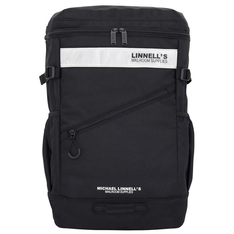 マイケルリンネル(MICHAEL LINNELL) Box Backpack(ボックス バックパック) ML-020 30L Black×White 137816