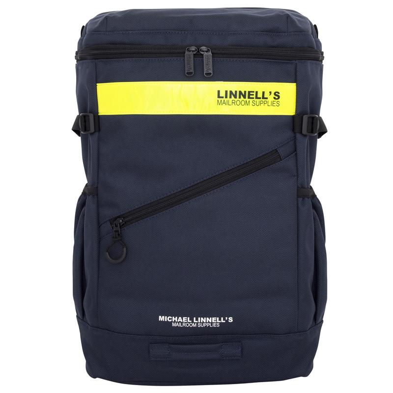 マイケルリンネル(MICHAEL LINNELL) Box Backpack(ボックス バックパック) ML-020 30L Navy×Yellow 137817