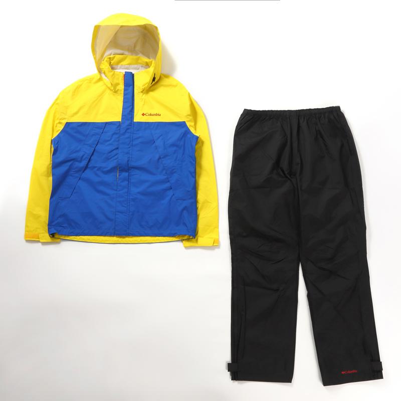 Columbia(コロンビア) Simpson Sanctuary Rainsuit(シンプソン サンクチュアリ レインスーツ) XL 752(YELLOW GLO) PM0124
