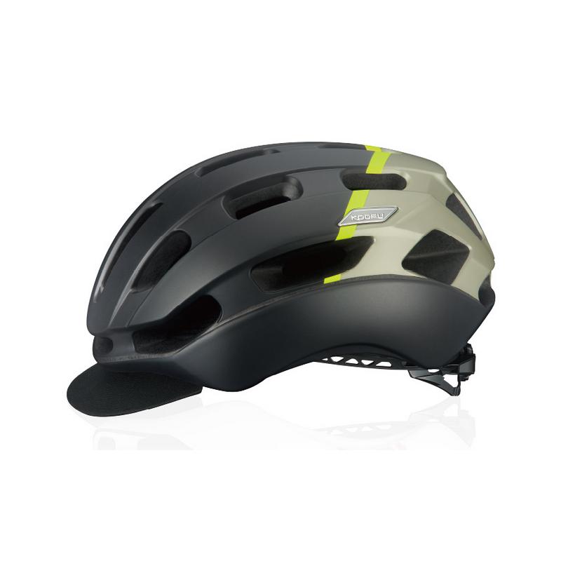 自転車アクセサリー 販売期間 限定のお得なタイムセール OGK オージーケー ヘルメット BC-Glosbe2 激安 BC グロッスベ2 L 20655652 XL マットブラックイエロー