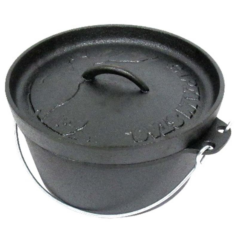 ダッチオーブン スキレット キャプテンスタッグ 25%OFF CAPTAIN 22cm 送料無料激安祭 STAG UG-3061
