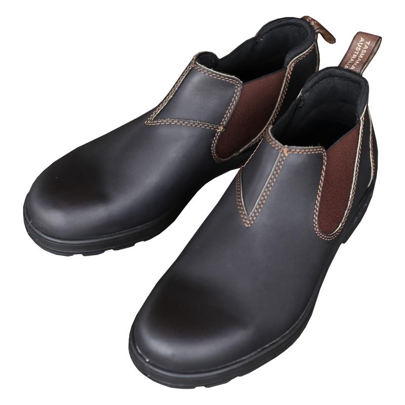 アウトドアブーツ 長靴 Blundstone ブランドストーン BS1610 スムースレザーサイドゴアブーツ 0 スタウトブラウン ローカット 新商品 今だけスーパーセール限定 BS1610050 7.