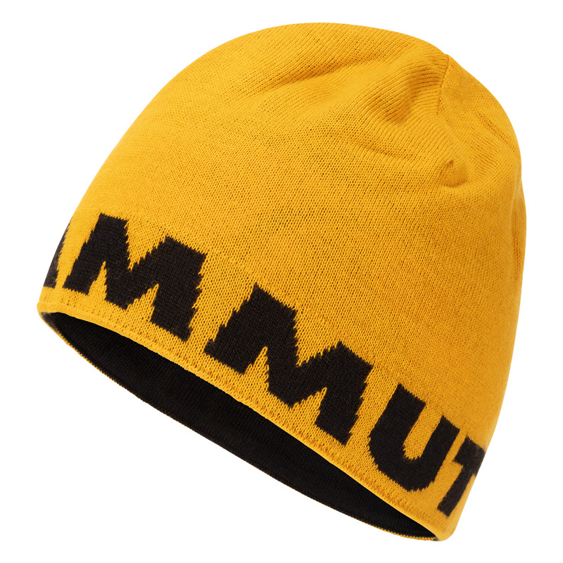 MAMMUT(マムート) Mammut Logo Beanie one size 1246(golden-black) 1191-04891