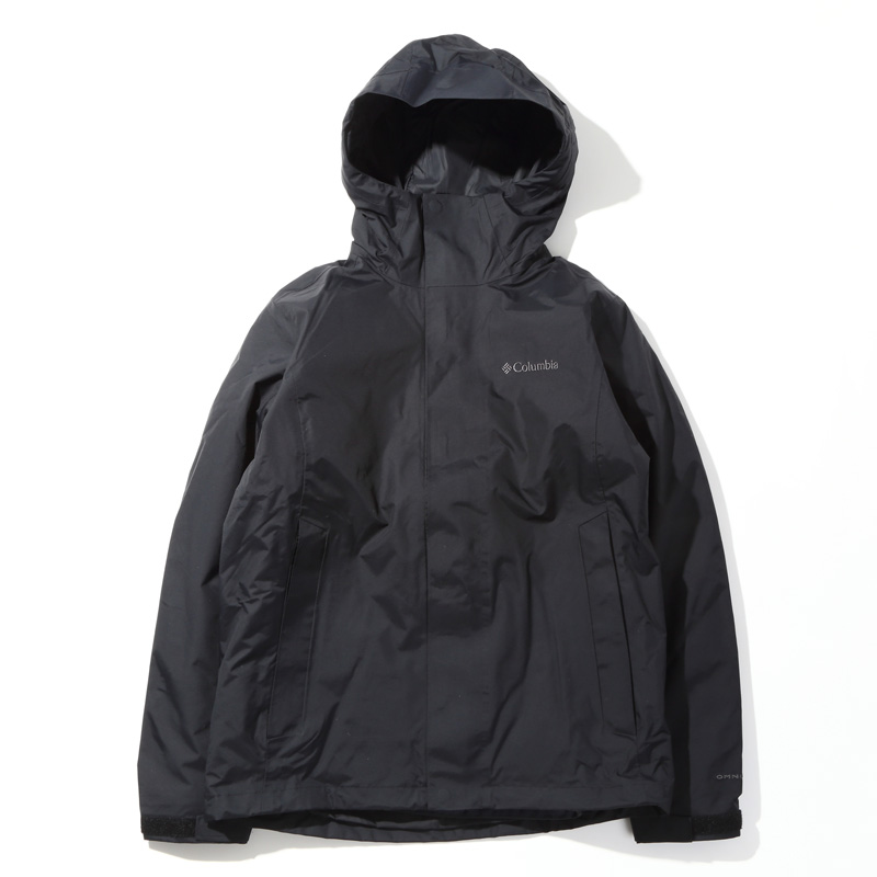 [アウトドアジャケット(メンズ)] Columbia(コロンビア) ORELLE JACKET(オレル ジャケット) XL 010(BLACK) PM3741