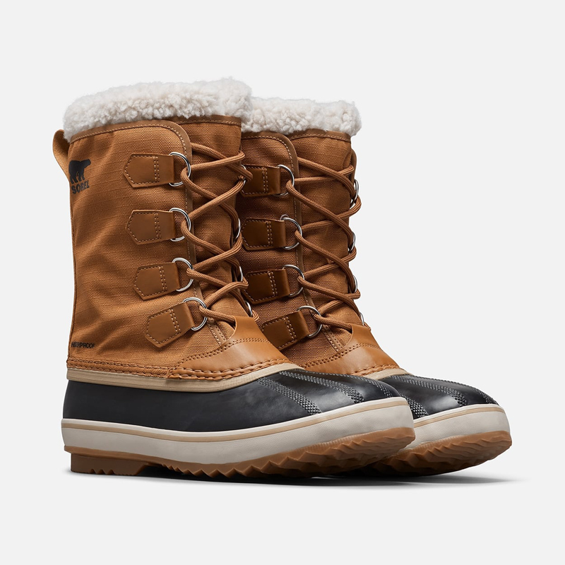 SOREL(ソレル) 1964 Pac Nylon(1964 パック ナイロン) Men's 10/28.0cm 224(CAMEL BROWN×BLACK) NM3487