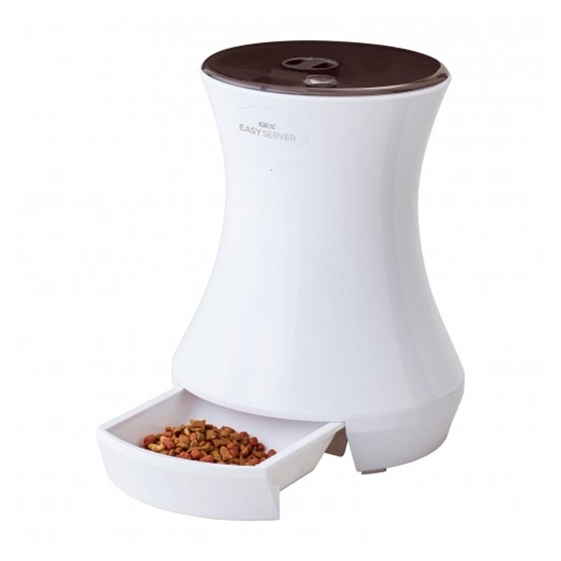 犬用食器 カトラリー 贈呈 ジェックス GEX 割引も実施中 Lacook EASY 3.2L ペット用自動給餌器 SERVER