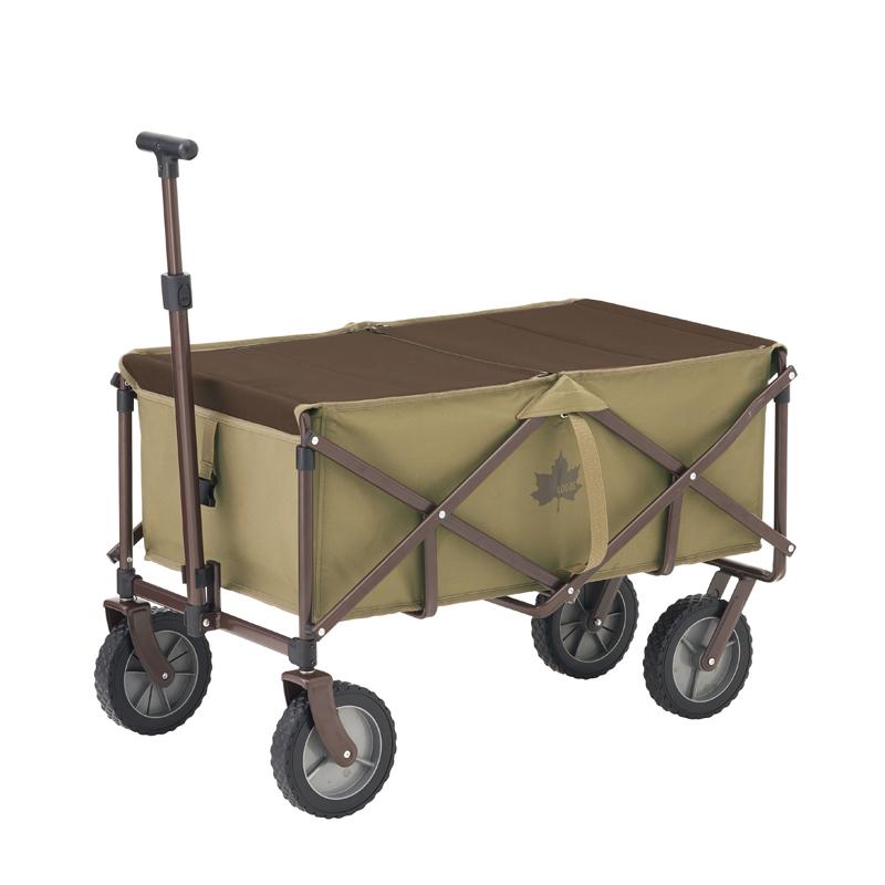 売れ筋ランキング キャンプ設営用具 ロゴス LOGOS TOPカバーキャリーカート 84720724 88L 選択