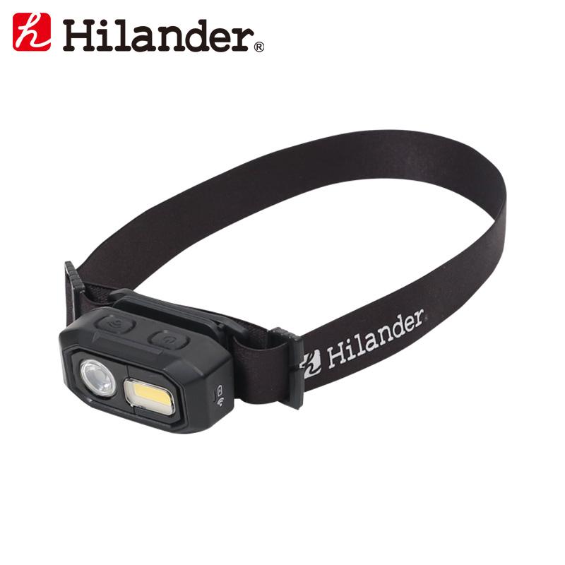 18%OFF アウトドアライト Hilander ハイランダー 480ルーメン HCA0303 LEDヘッドライト USB充電式 秀逸