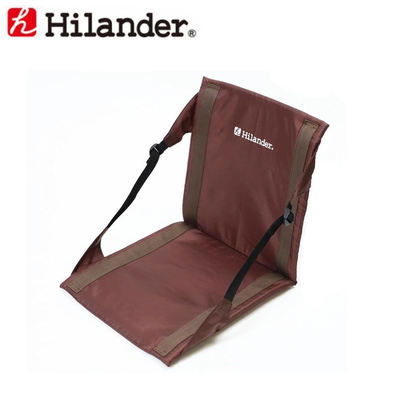 アウトドアチェア Hilander ハイランダー 3way 超特価 フォールディングチェア ブラウン マーケティング 収納袋付き マット UB-3047
