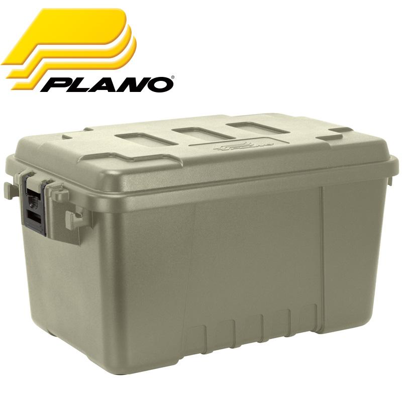[キャンプ設営用具] プラノ(PLANO) FIELD TRUNK LL(フィールドトランク) 53L グリーン 1619-01