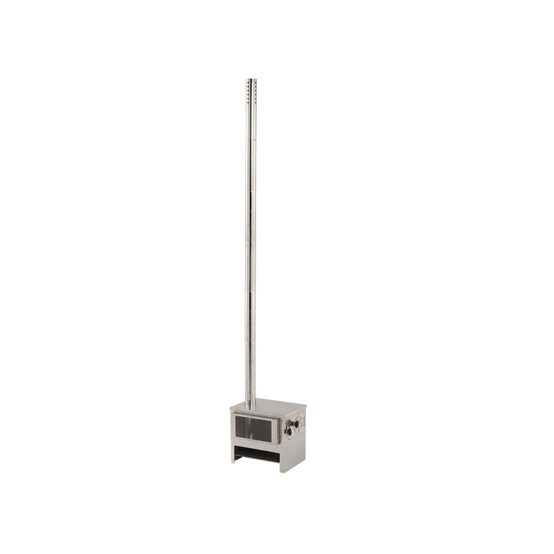 DOD(ディーオーディー) メラテレビ9型 薪ストーブ シルバー MS1-612-SL