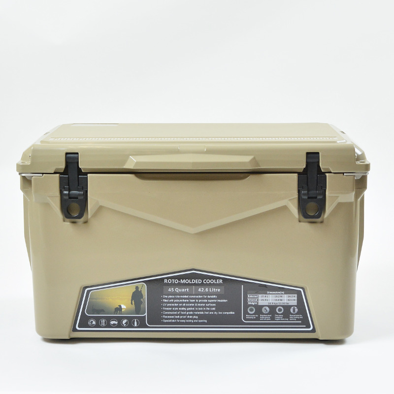 ICE AGE coolers(アイスエイジクーラー) 45QTクーラーボックス 42.6L タン ILC045TAN