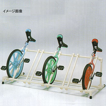 トーエイライト 一輪車ラックYZ5【代引不可】 T-2311 【大型商品】