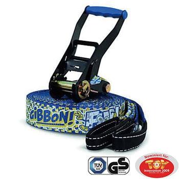 【送料無料】GIBBON(ギボン) FUN LINE X13 TREE PROSET ファンライン スラックライン 15m ブルー A010502