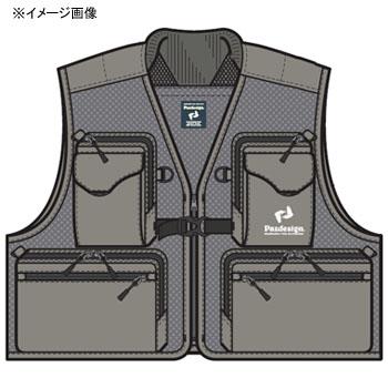 パズデザイン PAZDESIGN メッシュベスト XL グレー ZFV-026